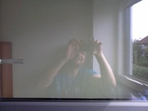 Fenster-nach-dem-Reinigen-mit-dem-Dampfsauger