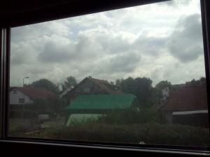Fenster-vor-der-Dampfreinigung
