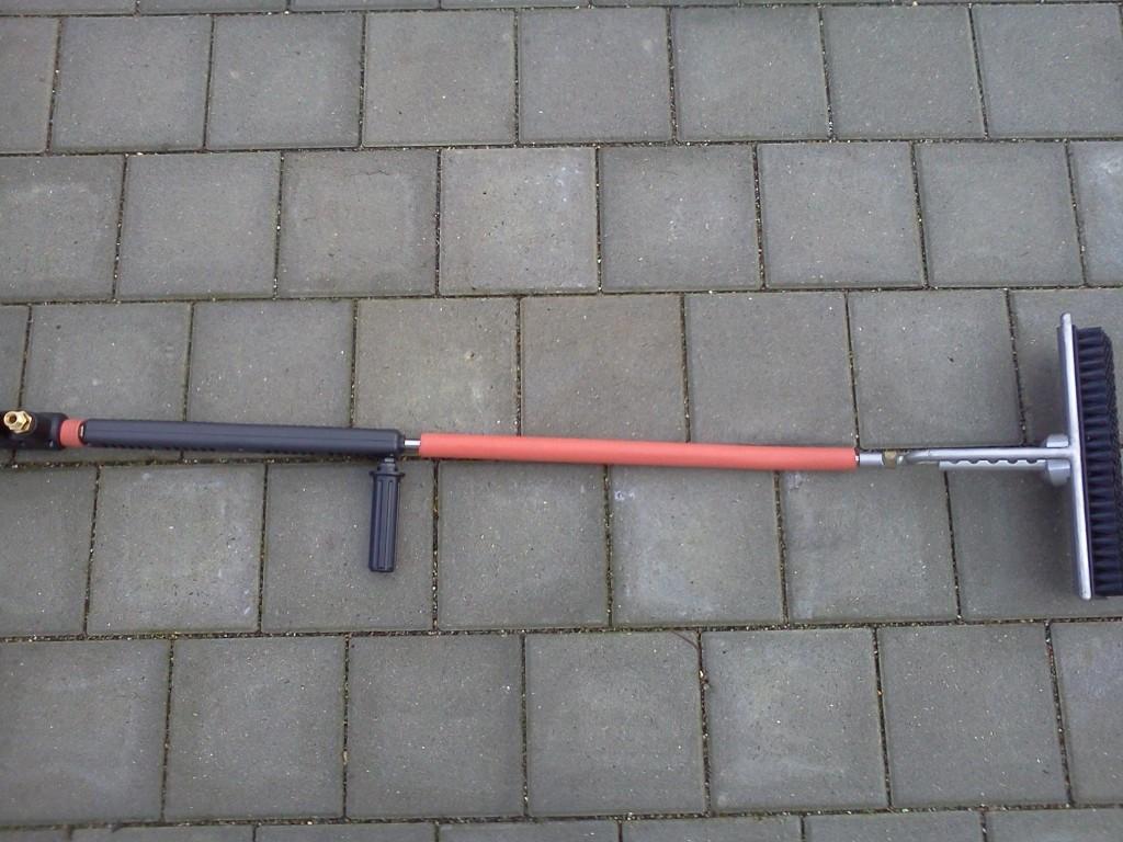 Hochdruck-Dampfpistole-mit-Rohr-Bodenduese