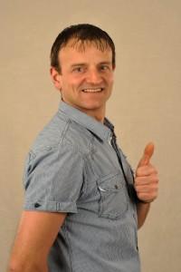 Service-Mitarbeiter Klaus Hügle