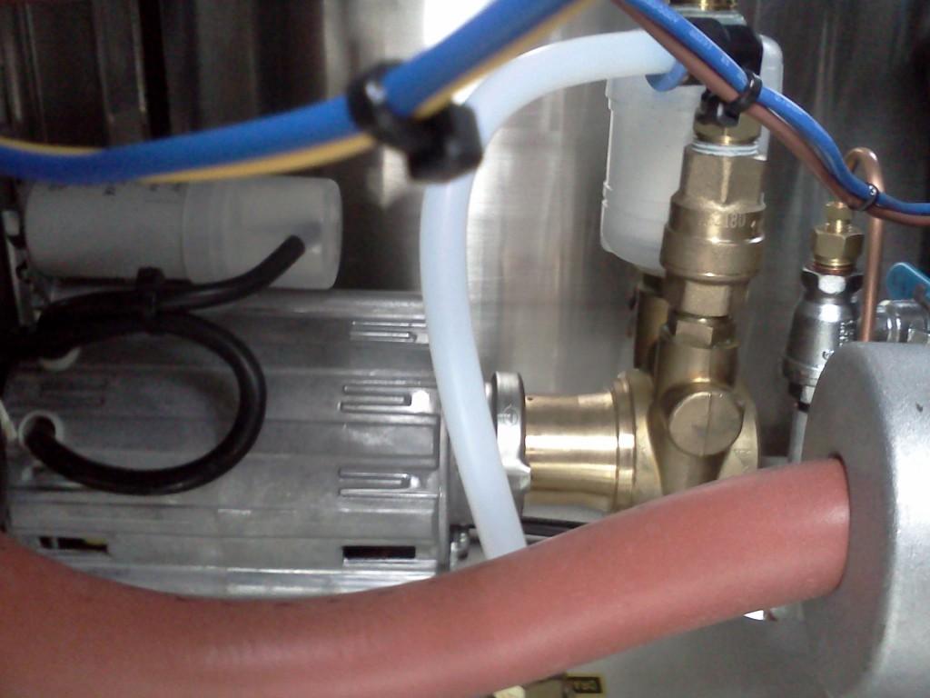 Dampfkessel-Fuellpumpe