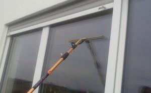 Fensterwischer-Optima mit 2,4m Stange