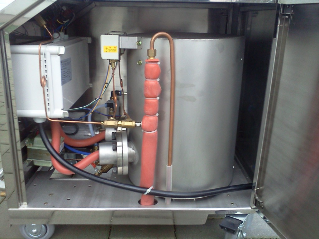 Industriedampfreiniger-Komponenten