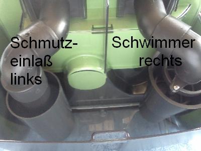 Dampfsauger-Schmutzwasserbehaelter