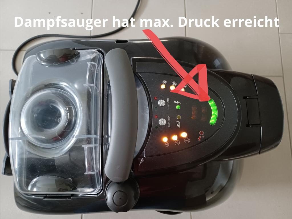 Dampfsauger-max-Druck